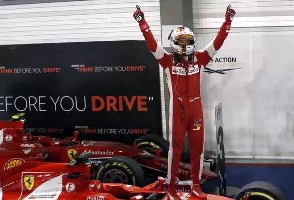Victoria para Vettel en el GP de Singapur de Fórmula 1