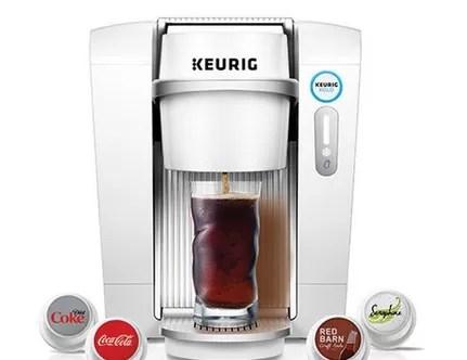 Una máquina permite preparar Coca Cola, Sprite y Fanta en casa