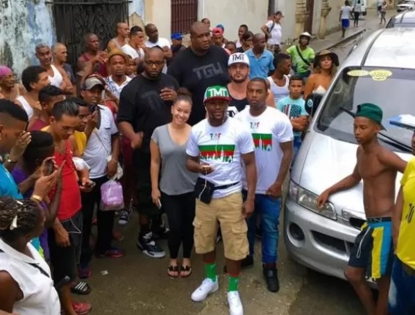 Mayweather en Cuba