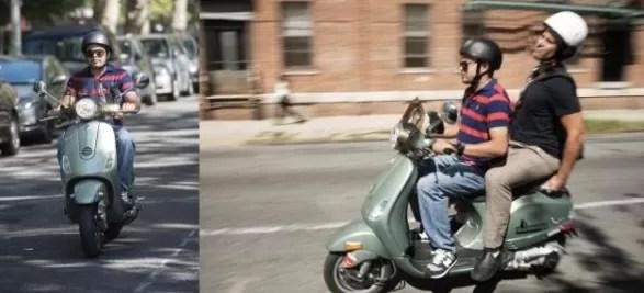 """Dominicano lanza servicio de """"motoconcho"""" en NY"""