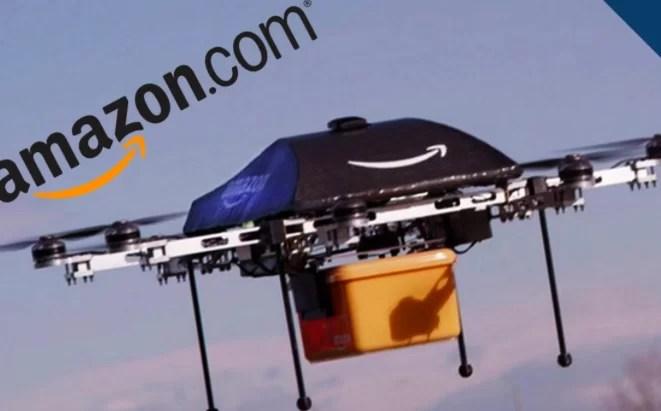 Amazon prueba nuevos drones para envíos
