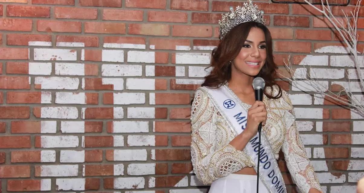 Cinthya Núñez rumbo a Miss Mundo en China