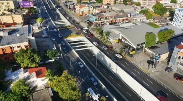 Abren el paso a desnivel de la avenida 27 de Febrero con Privada