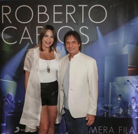 Luz y Roberto Carlos