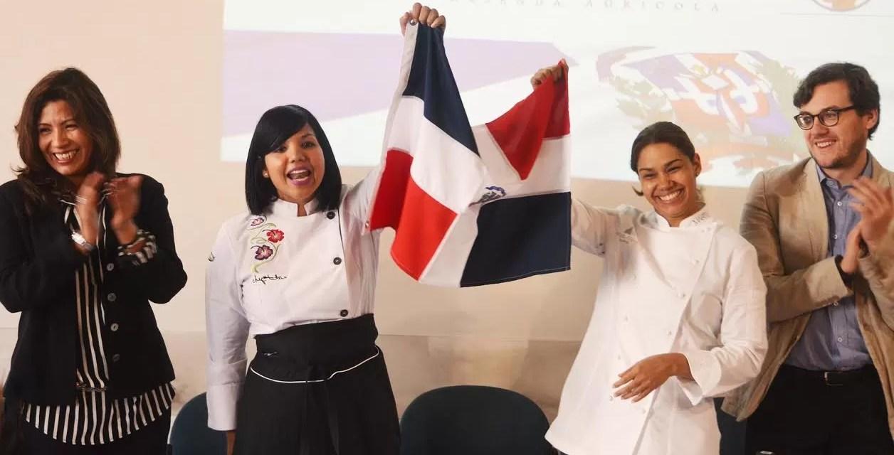 La Chef María Marte y Chef Tita llevaron la gastronomía dominicana a Italia