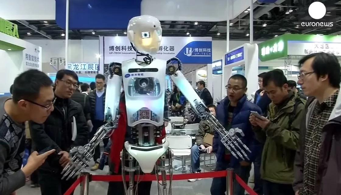 Los chinos sueñan con un mundo de robots