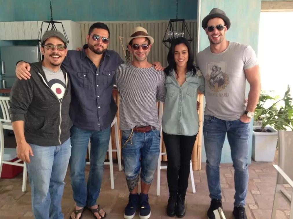 William Levy, Miguel Rodarte, Luis José Germán, Stephany Liriano y Solly Durán