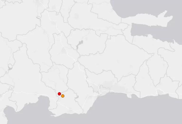 Otro sismo de 4.8 grados se siente en la República Dominicana