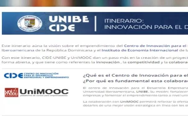 Unibe lanza cursos Online para emprendedores