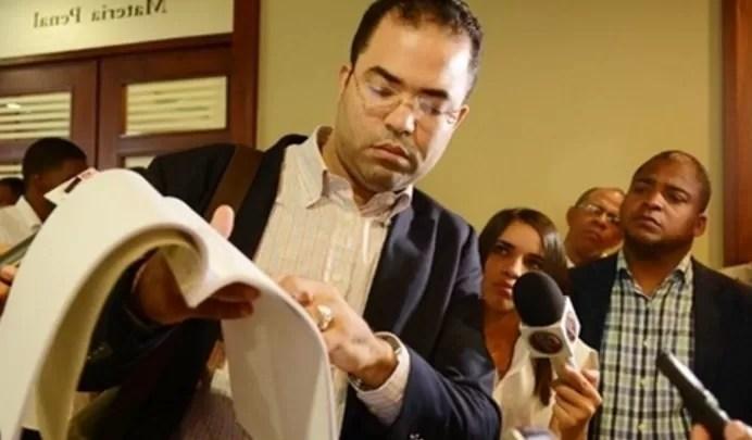 Esposo Sarah Pepén denuncia  a jueces investigados por corrupción