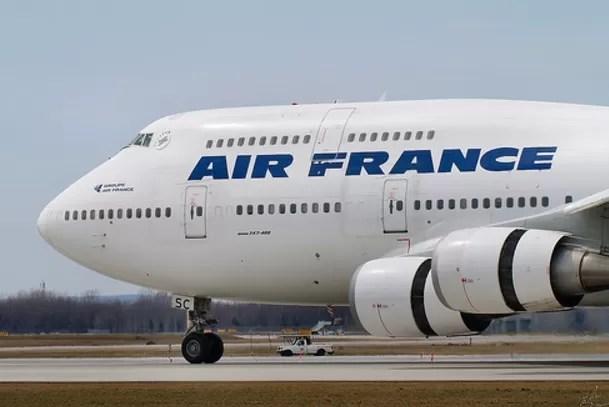 Detienen pareja por bomba falsa en vuelo Air France