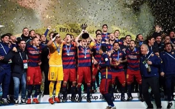 El Barcelona se convierte en el primer club en ganar tres Mundialitos