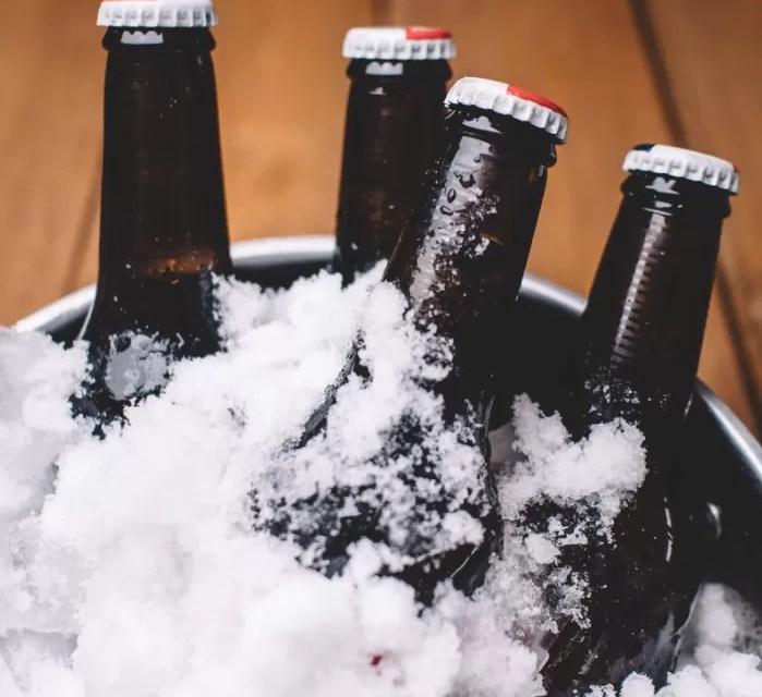 Lo que pasa cuando la cerveza se congela y luego se descongela