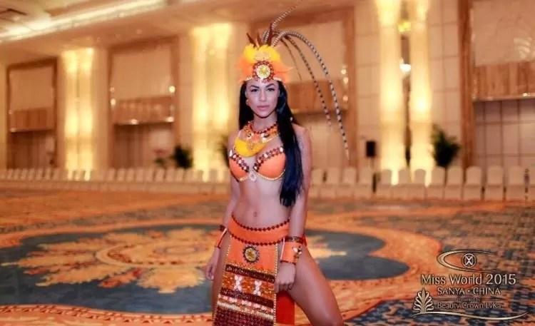 Representante dominicana dentro  de las» favoritas» del Miss Mundo 2015