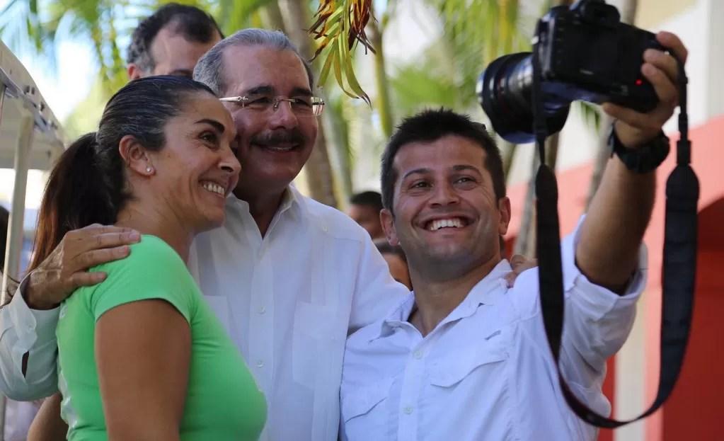 Danilo Medina asiste a la  expansión del Club Med