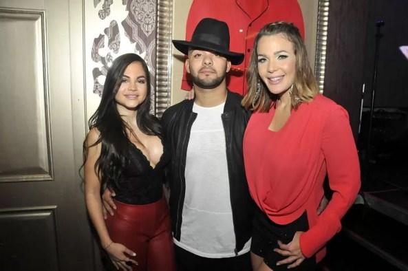 Natti Natasha, Gabriel y Luz Garcia