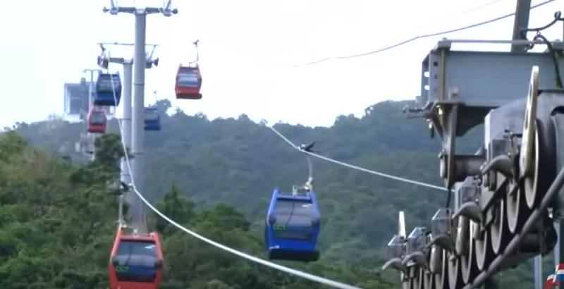 Así será el Teleférico de Santo Domingo