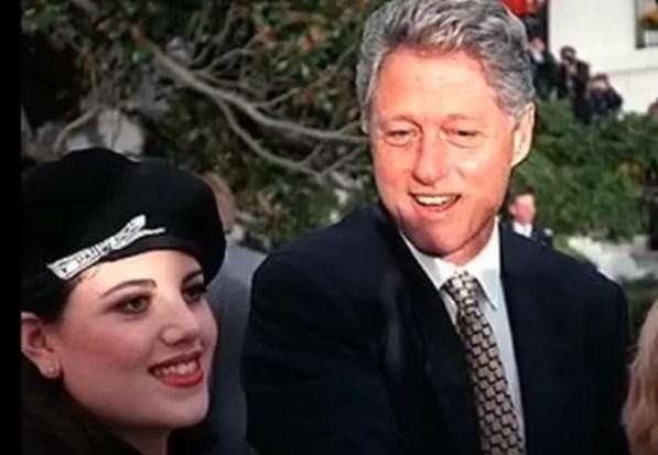 Bill Clinton y Monica