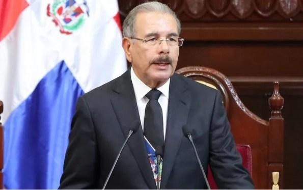 Danilo Medina habla