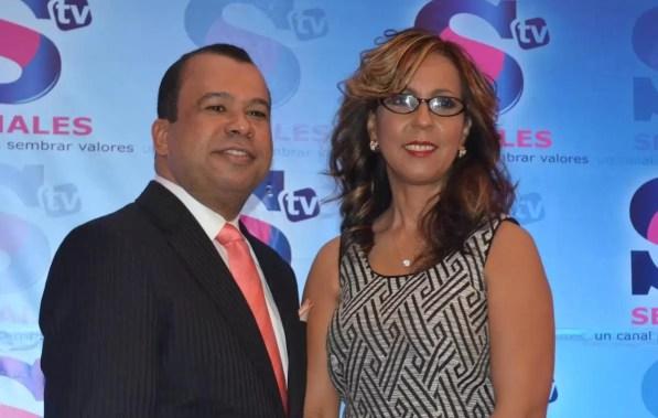 Euri Cabral y Zinaida Rodriguez