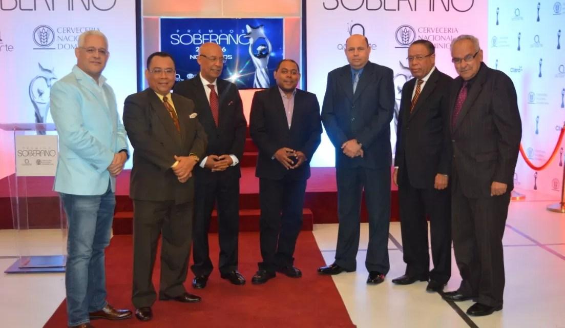 Nominados a Premios Soberano 2016