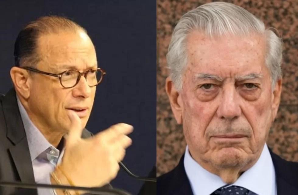 Ministro de Cultura se defiende ante los ataques por premio a Vargas Llosa