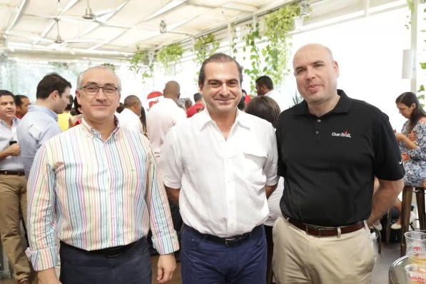 Mario Lama, Ramon Montes y Antonio Martin