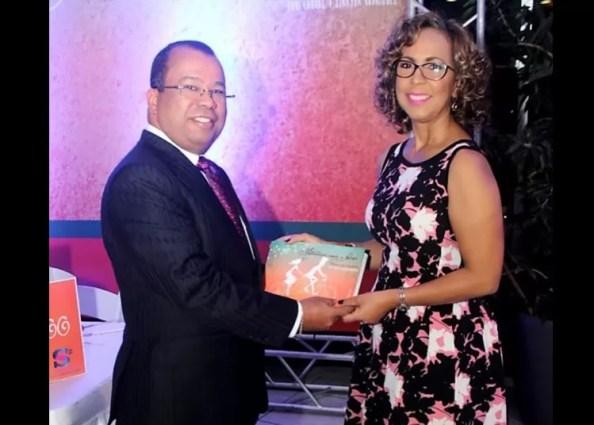 Euri Cabral y Zinayda Rodriguez