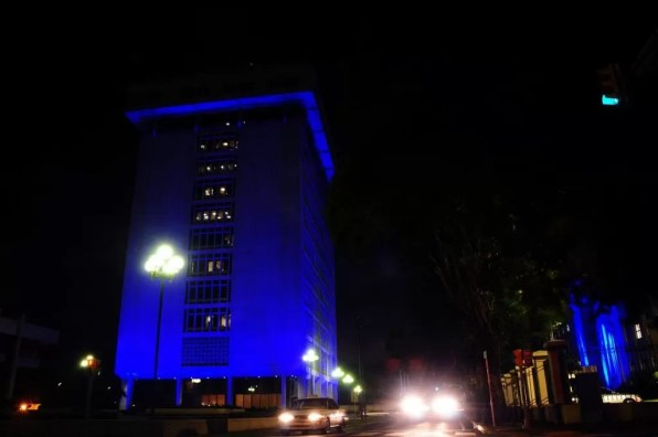 Banco Central Azul