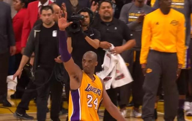 Kobe se despide imagen cortesía de Youtube.com/NBA