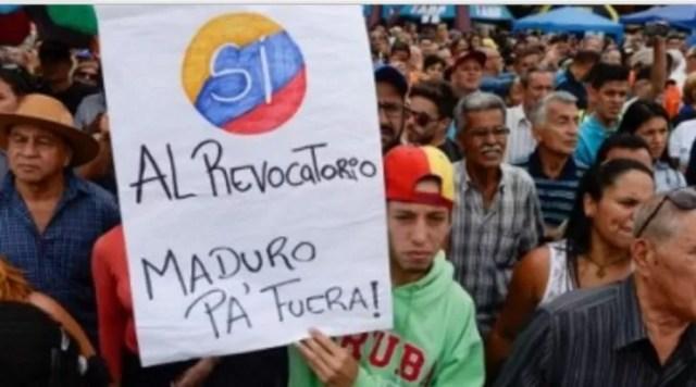 Maduro fuera