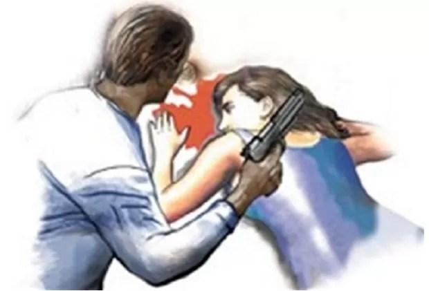 Mujer muerte disparo
