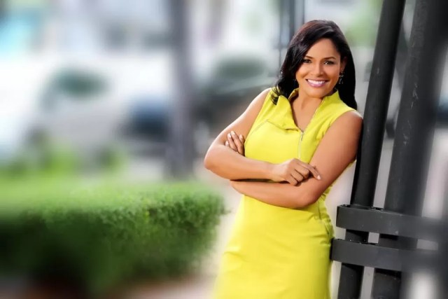 La periodista Diulka Perez corresponsal de CNN en español.
