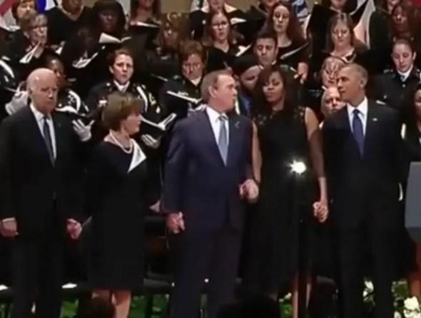 Bush baila