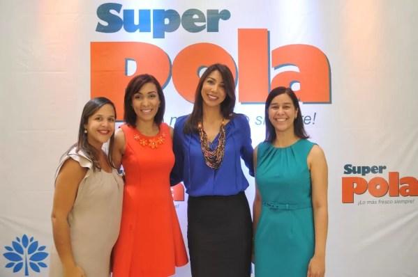 Laura Montas, Yadhira Pimentel, Reginato y Berenice Mendez