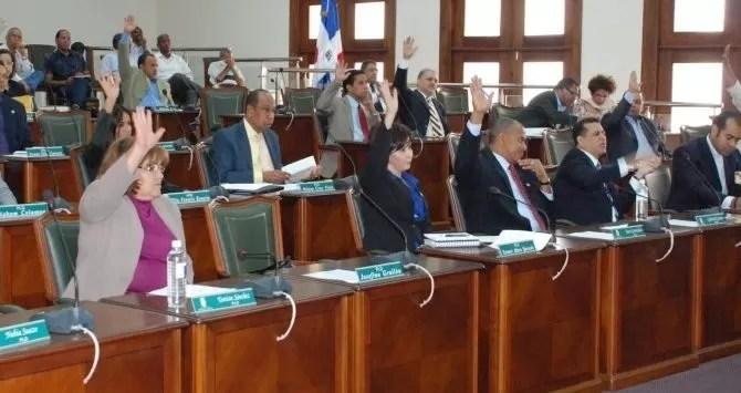 Regidores del Distrito Nacional quieren pensionarse. (ArchivoJusto Féliz)