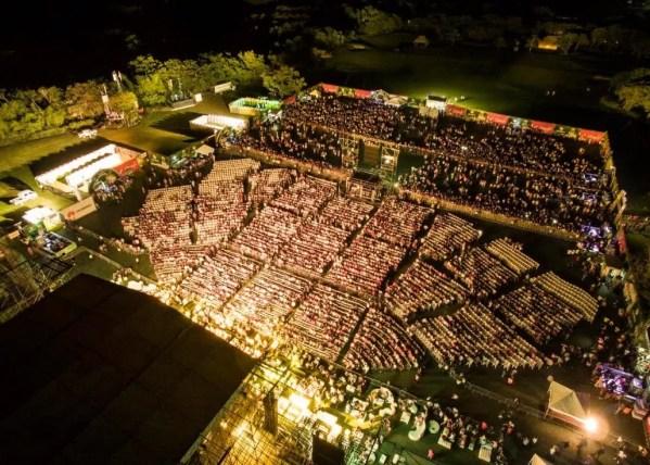 Vista del concierto