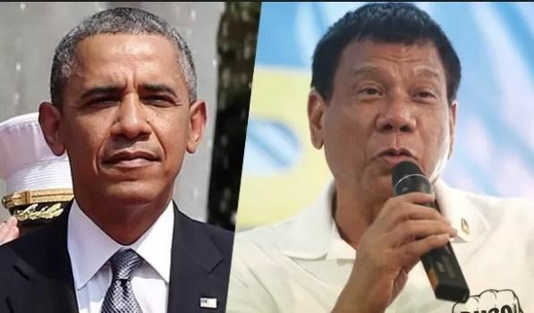 Duterte y obama