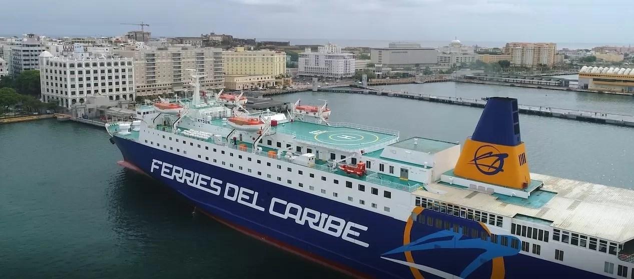 El nuevo Ferry  que cubre la ruta República Dominicana – Puerto Rico