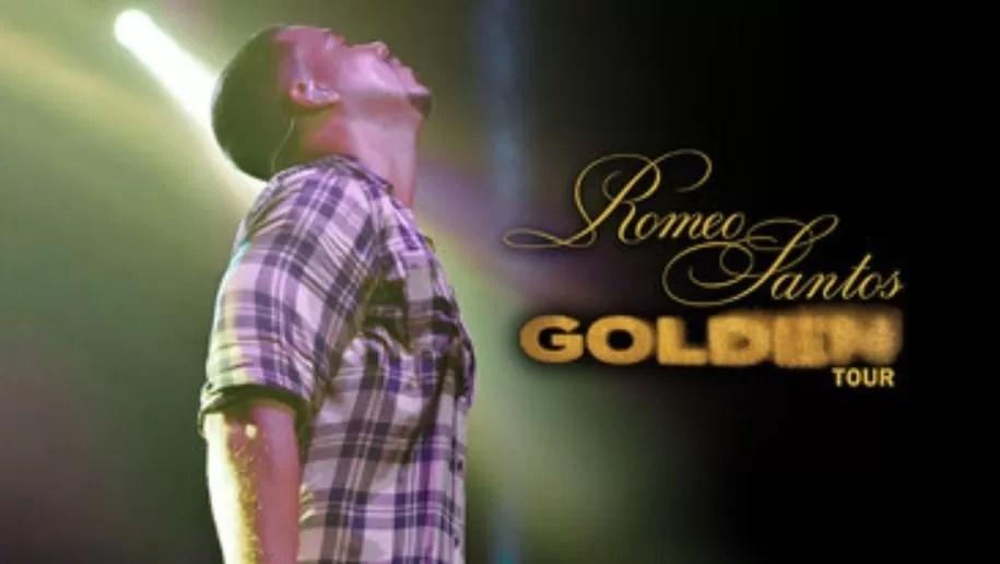 "Romeo Santos anuncia los detalles de ""Golden Tour"""
