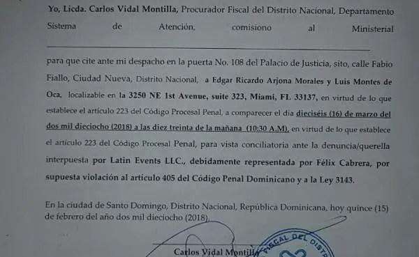 la-fiscalia-del-distrito-nacional-cita-a-ricardo-arjona-para-el-16-de-marzo