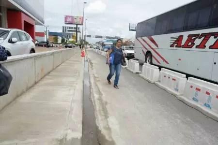 ADN dejó abierto tránsito peatonal que limitaba la propiedad de la Agencia Bella