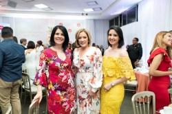 Alicia Ortega,Miguelina Fajardo y Jessica Hasbun
