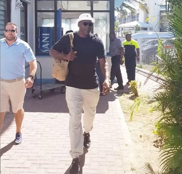 Michael Jordan vacacionando en República Dominicana