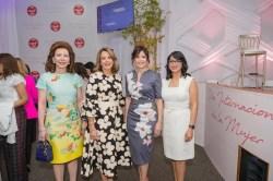 Secundaria- Melba Grullón, Clarissa Rocha, Gerty Valerio y Josefina Navarro