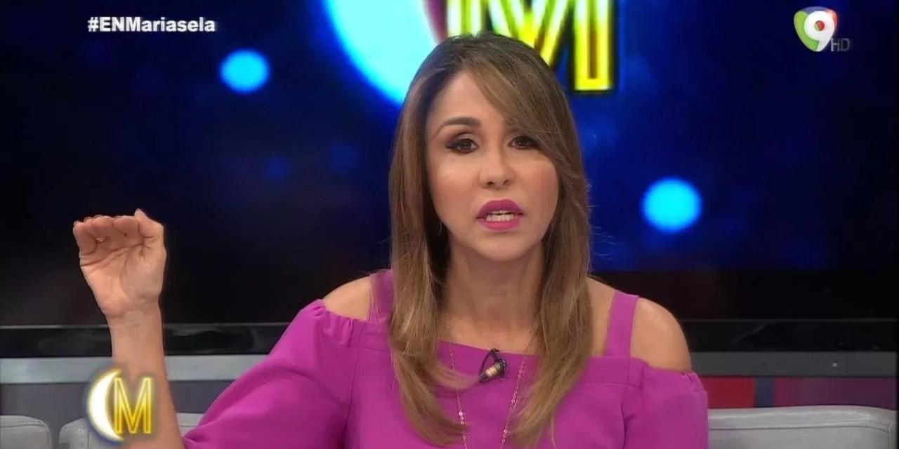 """Mariasela Álvarez se la devuelve a quienes le llaman """"Bocina"""" por publicidad del DICOM"""