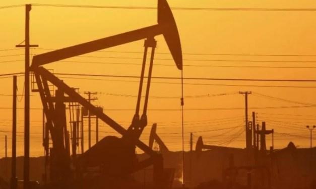 Petróleo recupera algo de terreno tras bruscas caídas