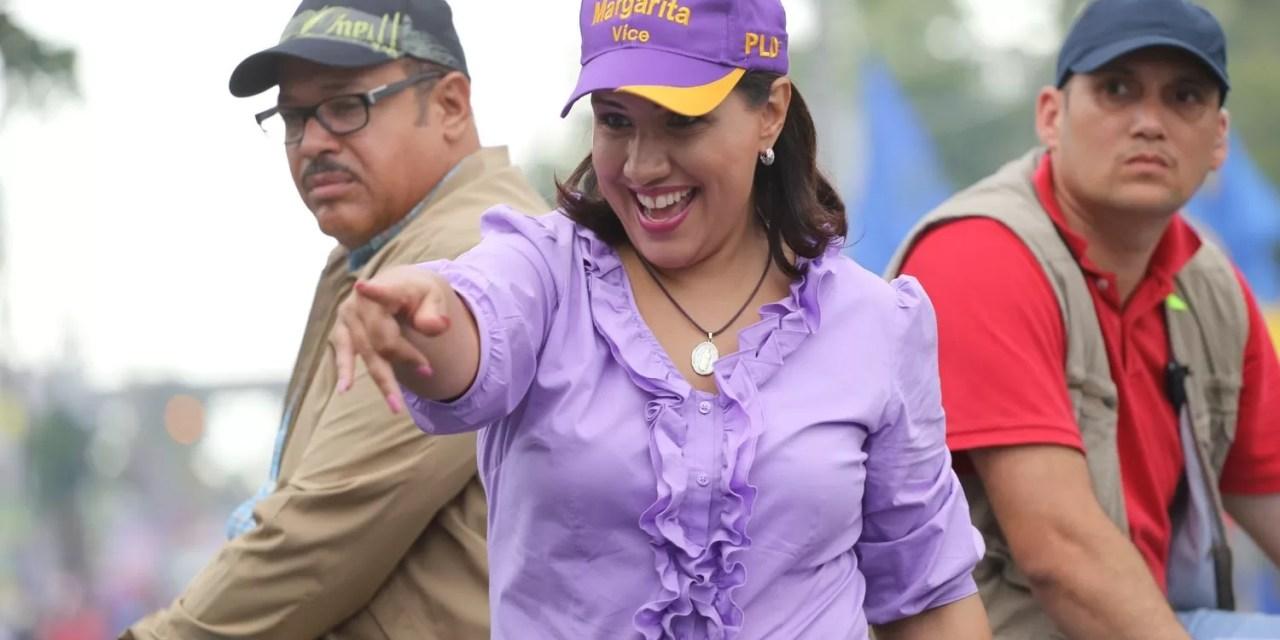 Margarita votará al mediodía en el Colegio San Judas Tadeo
