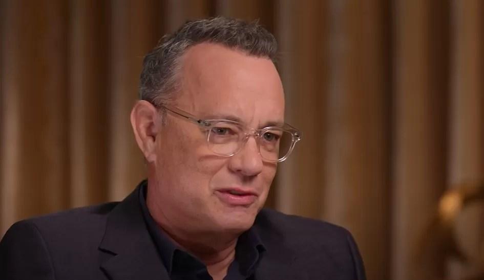 """""""¡No sea cobarde!"""": Tom Hanks compara la pandemia con la guerra"""