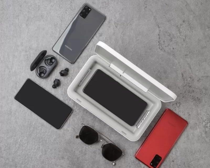 Nuevo cargador inalámbrico de Samsung desinfecta tu móvil con rayos ultravioleta mientras lo cargas